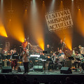 Jean Derome + 19: Résistances in concert at FIMAV, 2015 edition [Photograph: Martin Morissette, Victoriaville (Québec), May 14, 2015]