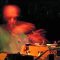 Martin Tétreault en concert au Festival Garage (Allemagne) [Photo: Éric Mattson, août 2003]