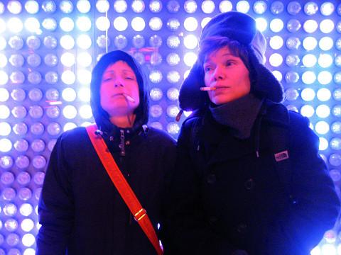 100 (Nancy Tobin, Nikki Forrest) [Photo: Mél Hogan, Montréal (Québec), décembre 2014]