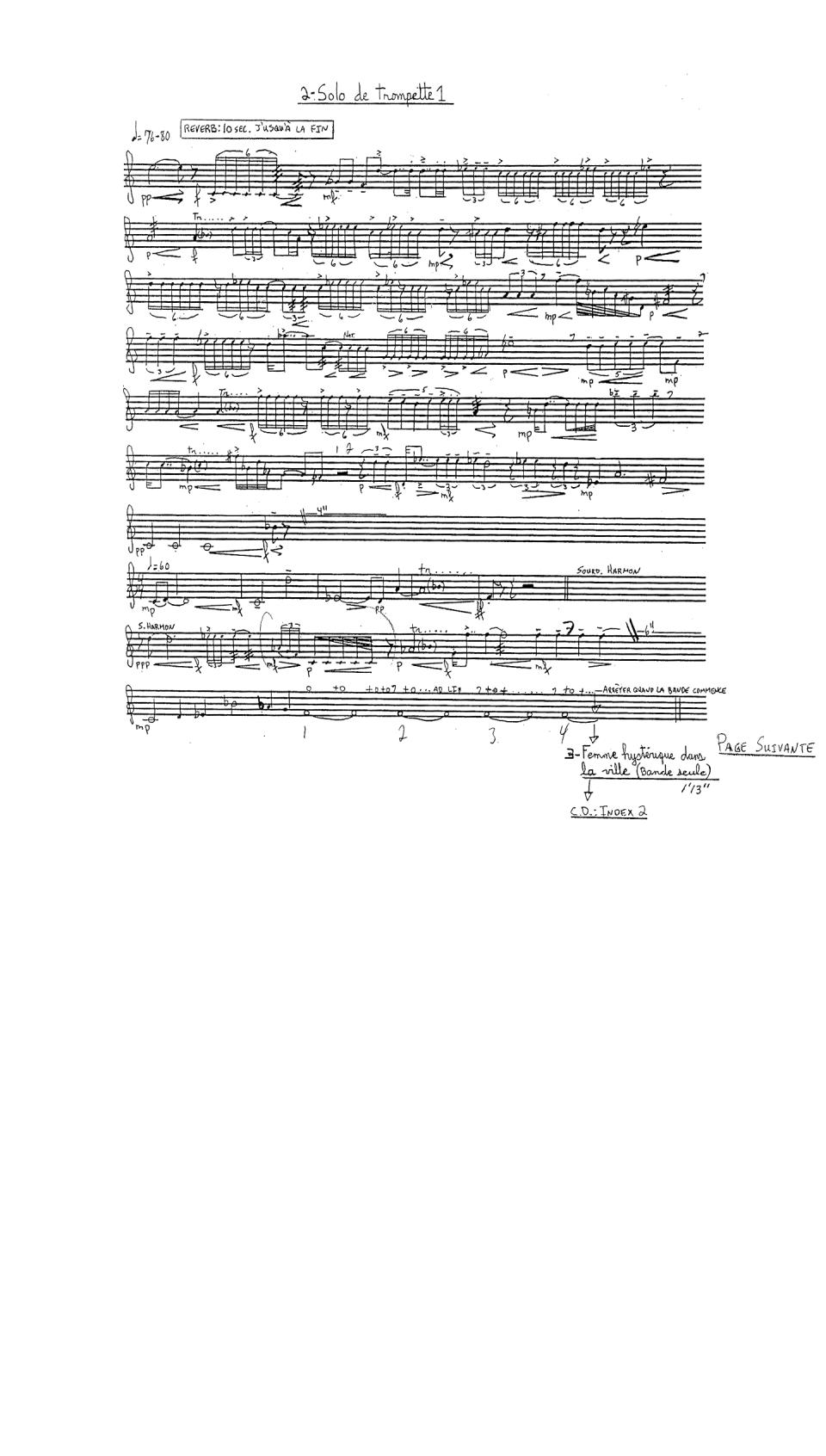 Solo de trompette 1