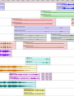 05m00s • 1.1: Abstract / Ambient — 00m00s-07m51s • 1.2: Concrète / Instrumental — 07m51s-16m04s