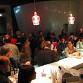 Pendant l'entracte, Café du Monument-National [Photo: Luc Beauchemin, Montréal (Québec), 11 décembre 2008]