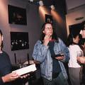 Jean-Christophe Thomas, Jean-François Denis, Philippe Mion, GRM's Studio 116, Maison de Radio France [Photo: Michel Lioret (Ina-GRM), Paris (France), June 6, 1994]