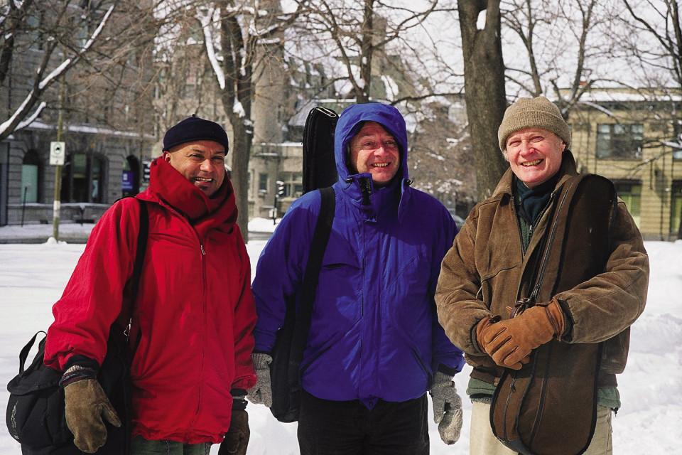Ganesh Anandan, Malcolm Goldstein, Rainer Wiens [Montréal (Québec)]