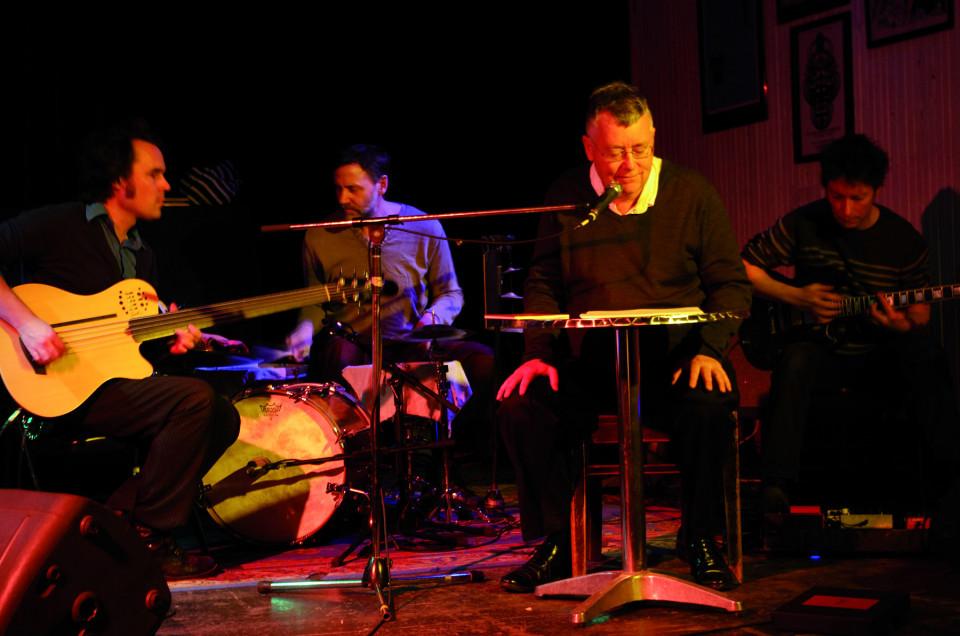 Solitary Pleasures: Alexandre St-Onge, Michel F Côté, Bernard Falaise and Fortner Anderson [Photo: Élisabeth Alice Coutu, Montréal (Québec), March 2, 2013]