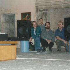 Joseph Anderson, Rick Nance, Darren Copeland, Adrian Moore [Birmingham (Angleterre, RU), 18 avril 1997]