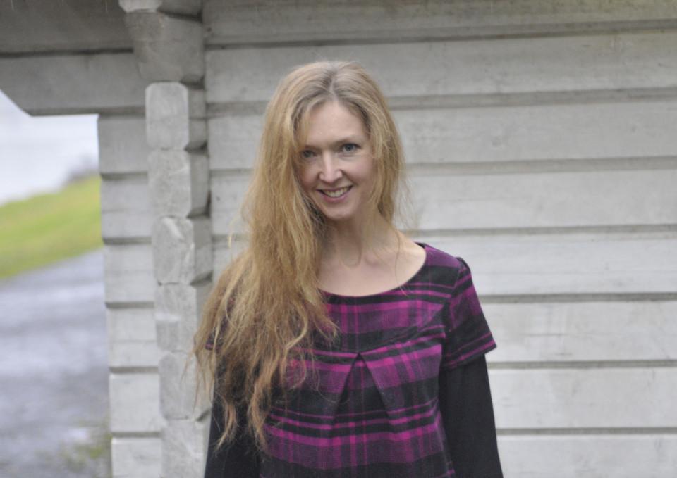 Natasha Barrett [Photo: Svein Berge, Oslo (Norway), November 23, 2009]