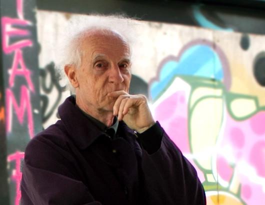François Bayle au festival RedSonic 2013 à la Red Gallery [Photo: Mira Varg, Londres (Angleterre, RU), 19 avril 2013]
