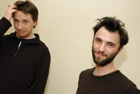 Nicolas Bernier, Jacques Poulin-Denis [Photo: Isabelle Gardner, Montréal (Québec), 2005]