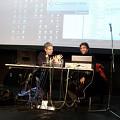 Christian Bouchard et Sébastien Roux en conférence au Conservatoire de musique de Montréal [Photo: Nicolas Bernier, Montréal (Québec), 10 décembre 2008]