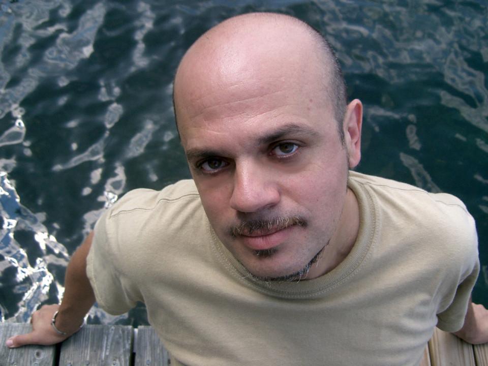 Ned Bouhalassa [Photograph: Brenda Keesal, 2008]