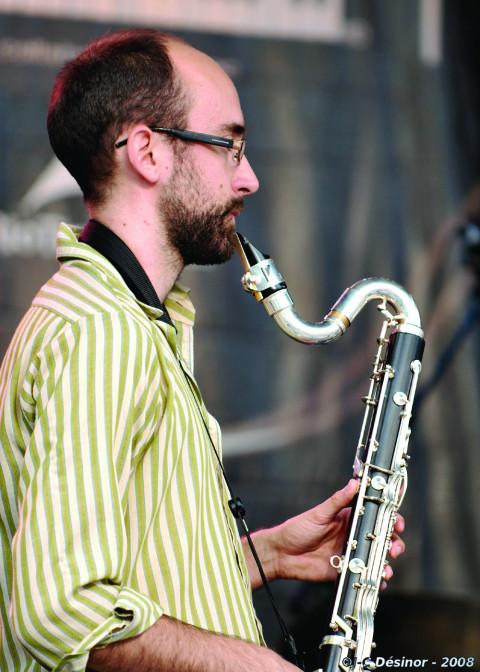 Guillaume Bourque [Photo: Jean-Claude Désinor, Montréal (Québec), July 2008]
