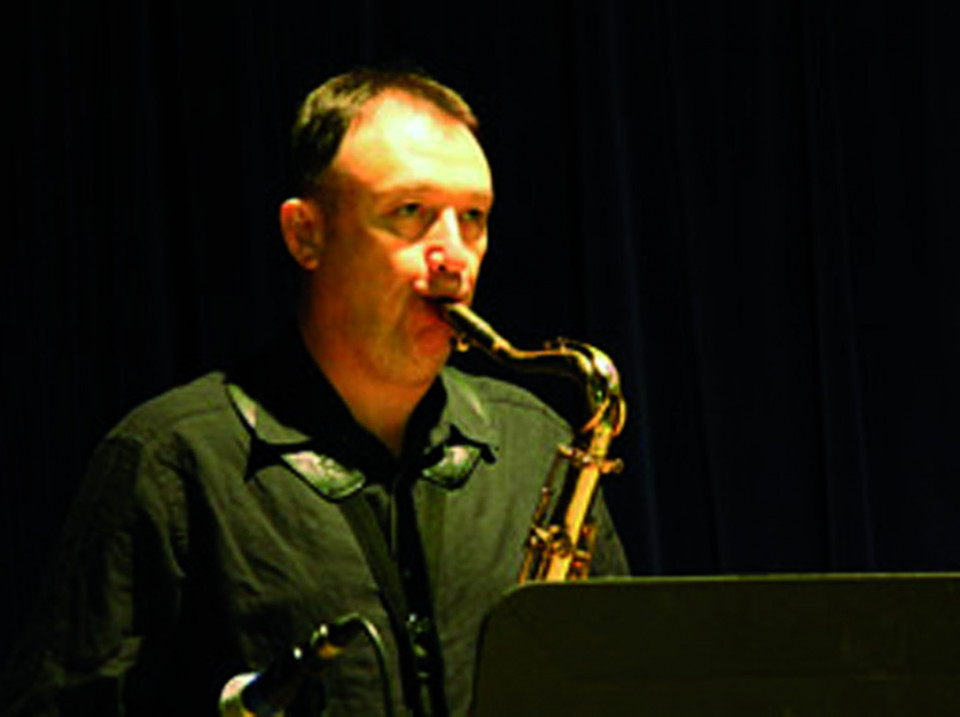 John Butcher [Photo: Ron Dough, 2009]