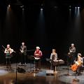 Bozzini Quartet, Quasar, Nous perçons les oreilles that play Tags' piece [Photograph: Céline Côté, Montréal (Québec), October 5, 2018]