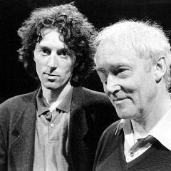 Christian Calon, Francis Dhomont [Photo: Stéphane Ouzounoff, Paris (France), June 13, 1993]