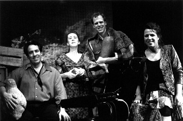 Castor et compagnie, from left to right: Jean Derome, Diane Labrosse, Pierre Tanguay and Joane Hétu