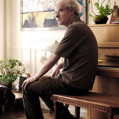 Michel Chion at home [Photo: Philippe Lebruman, Paris (France), June 2008]