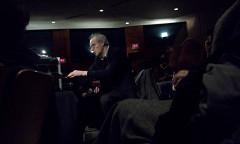 Michel Chion in concert, Salle Pierre-Mercure [Photo: Nicolas Bernier, Montréal (Québec), February 19, 2009]