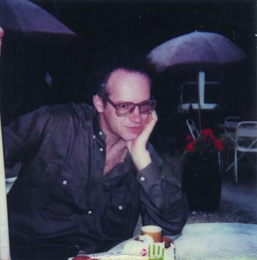 Michel Chion [Photo: Anne-Marie Marsaguet, 1988]