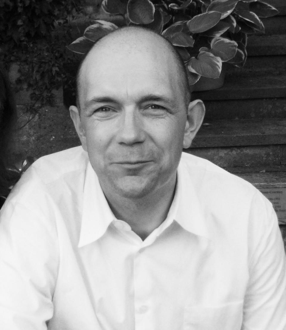 Laurence Crane [Photograph: Katalin Farkas]