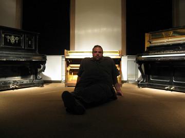 Érick d'Orion [Photo: Lorraine Mallinder, 2009]