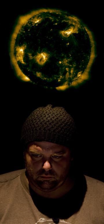 Érick d'Orion [Photo: Alexis Bellavance, novembre 2009]