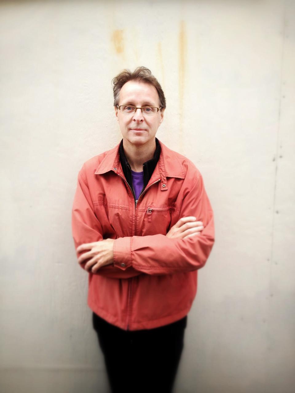 Jean-François Denis [Photo: Mark Mushet, Vancouver (British Columbia, Canada), June 20, 2013]