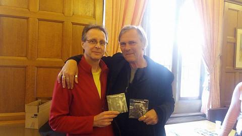 Jean-François Denis, Åke Parmerud [Photo: Adrian Moore, Sheffield (Angleterre, RU), 14 mai 2016]
