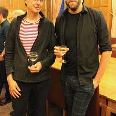 Jean-François Denis, Adam Stanović [Photo: Alejandro Albornoz, Sheffield (England, UK), November 3, 2018]