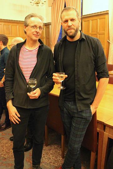 Jean-François Denis, Adam Stanović [Photo: Alejandro Albornoz, Sheffield (Angleterre, RU), 3 novembre 2018]