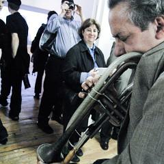 Jean Derome [Photograph: Céline Côté, Montréal (Québec), October 10, 2009]