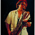 Jean Derome en concert [Photo: Marcel Dubois, Montréal (Québec), 2010]