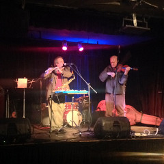 Jean Derome et Malcolm Goldstein in concert at the launching of 6 improvisations [Montréal (Québec), December 11, 2013]