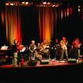 Jean Derome et les Dangereux Zhoms in concert at the 25th FIMAV [Photograph: Martin Morissette, Victoriaville (Québec), May 15, 2008]