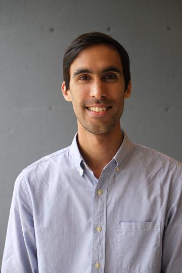 Gabriel Dharmoo [Photo: Pierre Léveillé, May 2014]