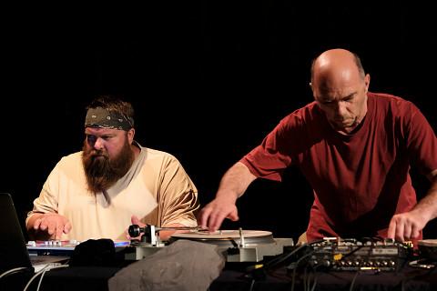 Duo Érick d'Orion & Martin Tétreault in concert [Photo: Céline Côté, Montréal (Québec), May 30, 2017]