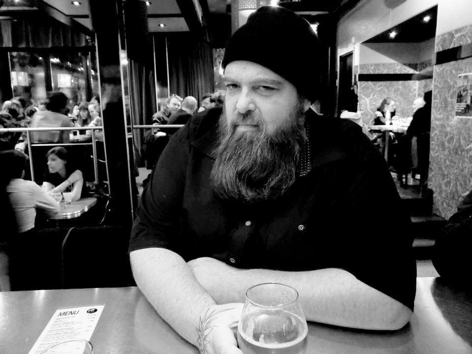 Érick d'Orion [Photo: Luc Senécal, Montréal (Québec), 2 novembre 2018]