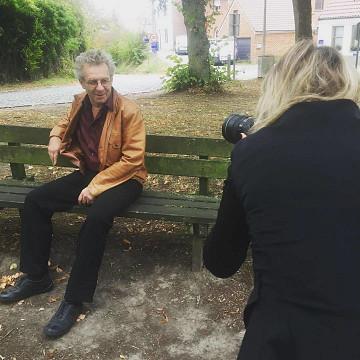 Stephan Dunkelman [Photo: Sophie Delafontaine, Ohain (Belgium), October 24, 2018]