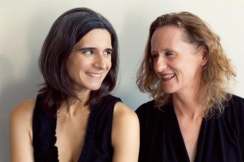 Duo Breault-Reimer / Also pictured: Marie-Hélène Breault, Pamela Reimer [Photo: Danielle Giguère, 2014]
