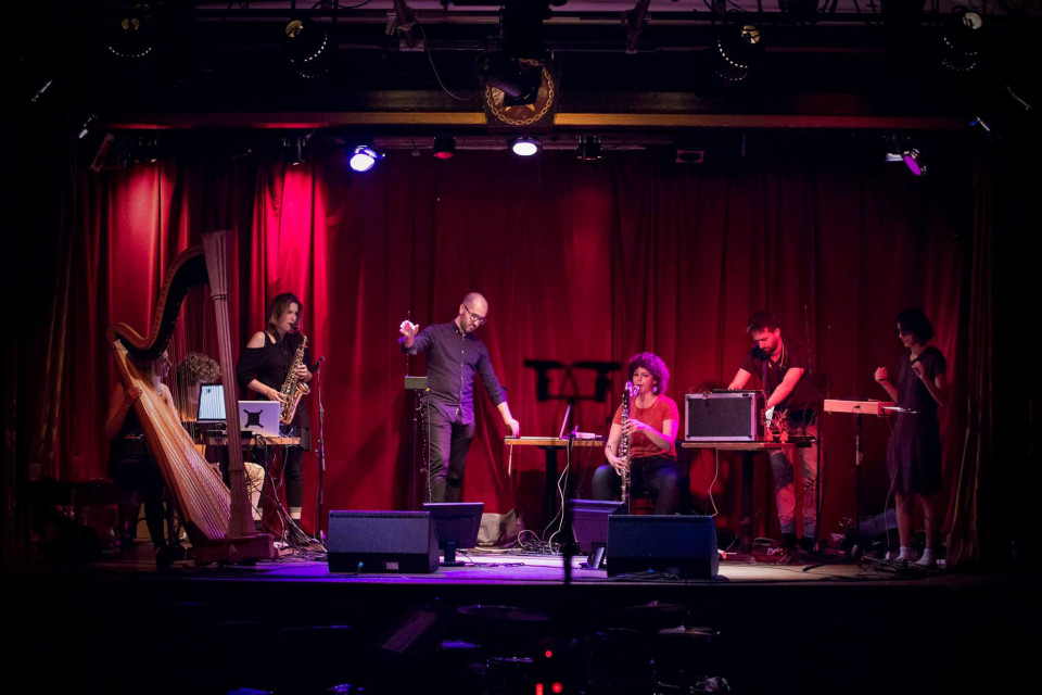 Ensemble ILÉA — At La Sala Rossa [Photo: Jonathan Goulet, Montréal (Québec), August 2017]