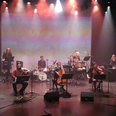 Ensemble SuperMusique  ()ESM () / Concert, Amphithéâtre – Le Gesù, Montréal (Québec) [Photograph: Céline Côté, Montréal (Québec), April 8, 2021]