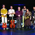 """Ensemble SuperMusique (ESM) — """"Treize lunes"""" presented by Danse-Cité in collaboration with Productions SuperMusique at the Monument-National [Photograph: Céline Côté, Montréal (Québec), January 31, 2007]"""