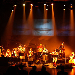Acte 3, Ensemble SuperMusique (ESM) en action [Photograph: Céline Côté, Montréal (Québec), March 18, 2006]