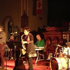 The musicians of the Ensemble SuperMusique (ESM) in concert at Kingston (Ontario) [Kingston (Ontario, Canada), October 19, 2013]