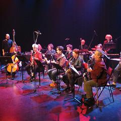 Ensemble SuperMusique (ESM) en concert à l'événement DAME: Archive / mémoire [Photo: Céline Côté, Montréal (Québec), 16 février 2017]