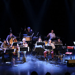 Ensemble SuperMusique (ESM) plays the piece En arrivant par le nuage de Oort [Photo: Céline Côté, Montréal (Québec), April 6, 2017]