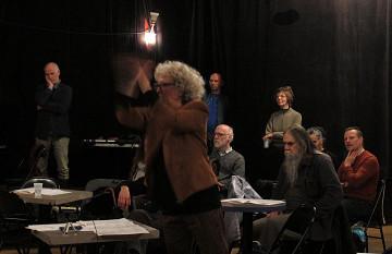 Ensemble SuperMusique (ESM) / Also pictured: Danielle Palardy Roger [Photo: Céline Côté, Montréal (Québec), April 29, 2018]
