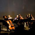 Ensemble SuperMusique (ESM) interpréte la pièce Sutra de Sandeep Bhagwati lors du concert Spationautes [Photo: Céline Côté, Montréal (Québec), 10 avril 2019]