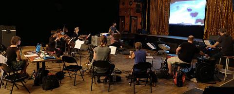 Ensemble SuperMusique (ESM) [Photograph: Céline Côté, Montréal (Québec), September 22, 2019]