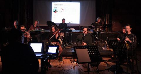 Ensemble SuperMusique (ESM) [Photo: Céline Côté, Montréal (Québec), February 23, 2020]